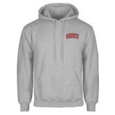 Grey Fleece Hoodie-Arched SHSU