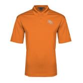 Orange Performance Fine Jacquard Polo-SH Paw Official Logo
