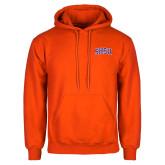 Orange Fleece Hoodie-Arched SHSU