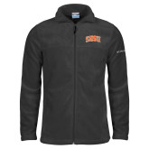 Columbia Full Zip Charcoal Fleece Jacket-Arched SHSU