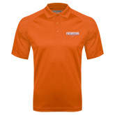 Orange Textured Saddle Shoulder Polo-2016 Southland Conference Football Champions Flat