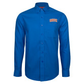 Red House French Blue Long Sleeve Shirt-Arched SHSU