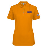 Ladies Easycare Orange Pique Polo-2017 Southland Conference Baseball Champions