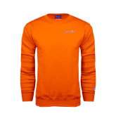 Orange Fleece Crew-Bearkats