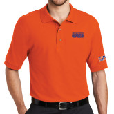 Orange Easycare Pique Polo-2017 Southland Conference Baseball Champions