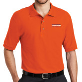 Orange Easycare Pique Polo-2017 Southland Conference Mens Track and Field
