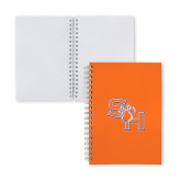 Clear 7 x 10 Spiral Journal Notebook-SH Paw Official Logo