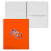 College Spiral Notebook w/Clear Coil-Bearkats
