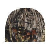 Mossy Oak Camo Fleece Beanie-SH Paw Official Logo