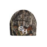 Mossy Oak Camo Fleece Beanie-SH Paw Official Logo