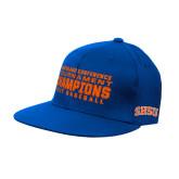 Royal OttoFlex Flat Bill Pro Style Hat-2017 Southland Conference Baseball Champions