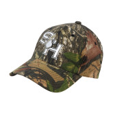 Mossy Oak Camo Structured Cap-SH Paw Official Logo