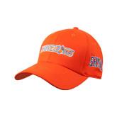 Orange Heavyweight Twill Pro Style Hat-Bearkats