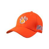 Orange Heavyweight Twill Pro Style Hat-Paw