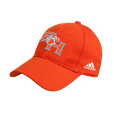 Adidas Orange Structured Adjustable Hat-SH Paw Official Logo