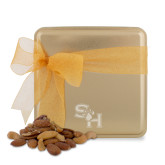 Deluxe Nut Medley Gold Medium Tin-SH Paw Official Logo Engraved
