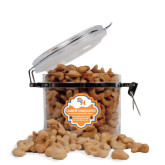 Cashew Indulgence Round Canister-SH Paw Official Logo