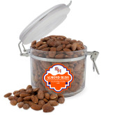 Almond Bliss Round Canister-SH Paw Official Logo
