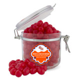 Sweet & Sour Cherry Surprise Round Canister-SH Paw Official Logo