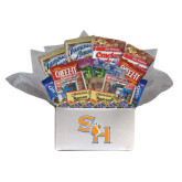 College Care Package Snackdown Deluxe-SH Paw Official Logo