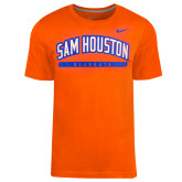 NIKE Orange Classic Short Sleeve Tee-