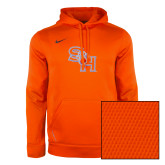 NIKE Orange KO Chain Fleece Hoody-
