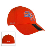 NIKE Orange Swoosh Flex Hat-