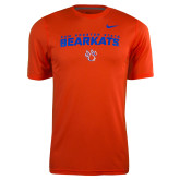NIKE Orange Dri Fit Legend Tee-