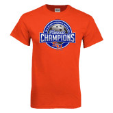 2014 NCAA Women''s Bowling Champions Orange T-Shirt-