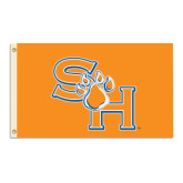 3 ft x 5 ft Flag-SH Paw Official Logo