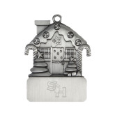 Pewter House Ornament-SH Paw Official Logo Engraved