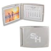 Silver Bifold Frame w/Calendar-SH Paw Official Logo Engraved