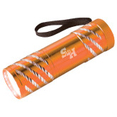 Astro Orange Flashlight-Primary Athletics Mark Engraved