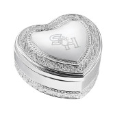Vintage Style Heart Trinket Box-SH Paw Official Logo Engraved