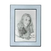 Silver Two Tone 5 x 7 Vertical Photo Frame-Bearkats Engraved