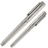 Cutter & Buck American Classic Midlands Silver Roller Ball Pen-Bearkats Engraved, Personalized
