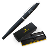 Cross ATX Basalt Black Rollerball Pen-Arched SHSU Engraved