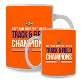 Full Color White Mug 15oz-2017 Southland Conference Mens Track and Field
