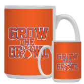 Full Color White Mug 15oz-Grow the Growl