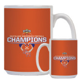Full Color White Mug 15oz-Southland Conference Indoor Track and Field Champions