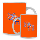 Full Color White Mug 15oz-SH Paw Official Logo