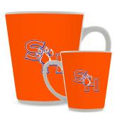 Full Color Latte Mug 12oz-SH Paw Official Logo