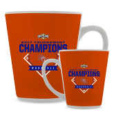 Full Color Latte Mug 12oz-2017 Southland Conference Baseball Champions