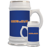 Full Color Decorative Ceramic Mug 22oz-Grow the Growl Horizontal