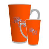 Full Color Latte Mug 17oz-SH Paw Official Logo
