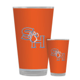 Full Color Glass 17oz-SH Paw Official Logo