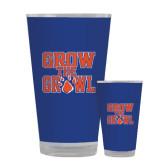 Full Color Glass 17oz-Grow the Growl
