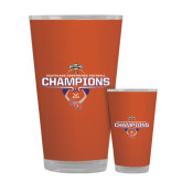 Full Color Glass 17oz-2016 Southland Conference Football Champions