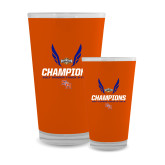 Full Color Glass 17oz-Southland Conference Indoor Track and Field Champions