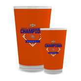 Full Color Glass 17oz-2017 Southland Conference Baseball Champions